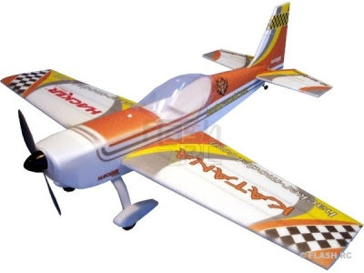 Avion Hacker model Katana T-30 orange ARF env.1.20m