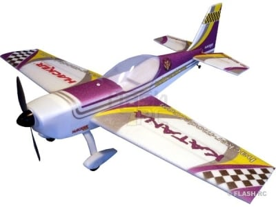 Avion Hacker model Katana T-30 violet ARF env.1.20m