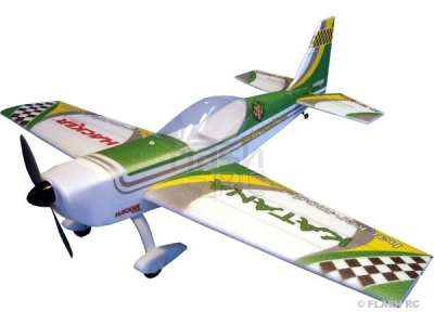 Avion Hacker model Katana T-30 vert ARF env.1.20m