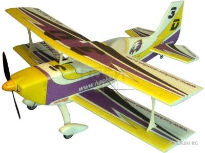 Avion Hacker model Ultimate 3D violet ARF env.1.00m