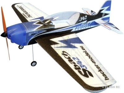 Avion Hacker model Sbach Mini 500 bleu ARF env.0.50m