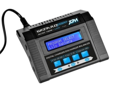 Chargeur Pro Wizard X6S+ 100W 12V/220V T2M