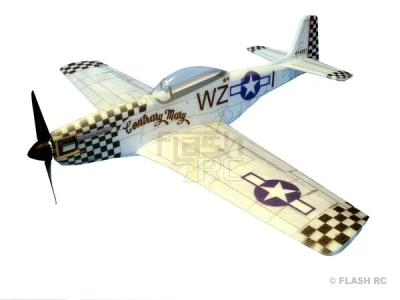 Avion Hacker model P51-D Mustang contrary mary ARF env.0.84m