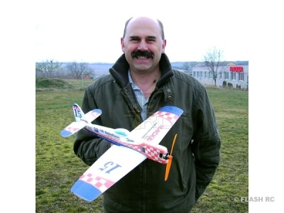 Avion Hacker model Furias Mini ARF env.0.52m