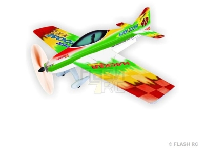 Avion Hacker model Super Zoom XXL vert ARF env.1.50m