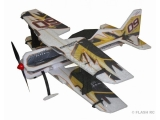 Avion RC Factory Crack Pitts Backyard Series jaune/noir env.0.80m
