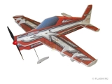 Avion RC Factory Crack Laser Lite Series rouge env.0.80m