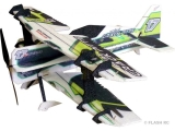 Avion RC Factory Crack Pitts Mini Series vert/noir env.0.60m