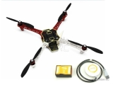 F450 DJI quadro V3 + NAZA-M V2 + GPS + Train fixe