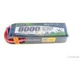 Batterie Lipo 14.8V 4S 8000mAh 20C HED Dualsky