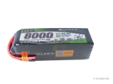 Batterie Lipo 22.2V 6S 8000mAh 15C HED Dualsky