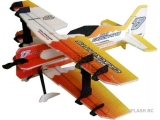 Avion RC Factory Crack Pitts Mini Series orange/jaune env.0.60m