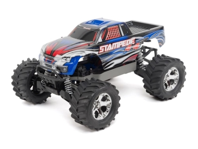 Traxxas Stampede 4WD Brushed Radio TQ 2.4Ghz RTR 67054-1