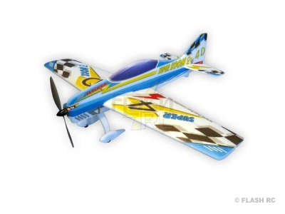 Avion Hacker model Super Zoom 2 bleu ARF env.1.00m