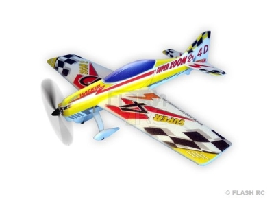 Avion Hacker model Super Zoom 2 jaune ARF env.1.00m