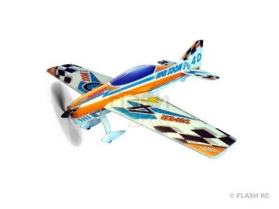 Avion Hacker model Super Zoom 2 orange ARF env.1.00m