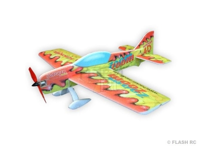 Avion Hacker model Zoom Zoom 4D rouge ARF env.1.00m