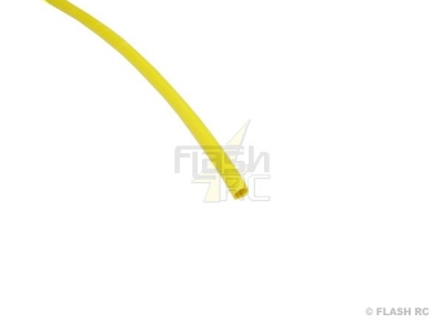 50cm Gaine Thermo 2:1 jaune 2,4mm