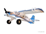 Avion RC Factory Crack Turbo Beaver bleu/orange FUN SERIES env.0.80m