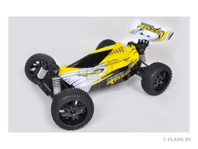 T2M Pirate Razor brushed Jaune 1/10e 4WD RTR