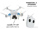 PHANTOM 2 UPGRADE DJI RTF + Zenmuse H4 3D Mode 1