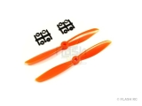Hélice SF 6x4.5 orange (2pc) Gemfan