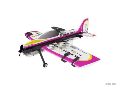 Avion Hacker model Super Zoom Race mauve ARF env.1.00m