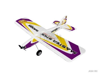 Avion Hacker model Master Stick violet ARF env.1.20m