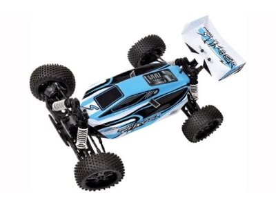 T2M Pirate Stinger brushed Bleu 1/10e 4WD RTR