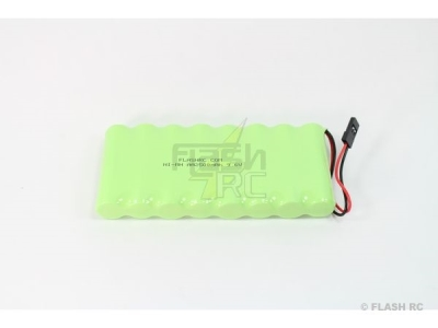 Batterie Tx 9,6V 2500mAh NiMh format plat AA FLASH RC