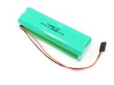 Batterie Tx 9,6V 2500mAh NiMh (UNI/JR) format bloc AA FLASH RC