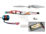 Set de propulsion Dogfighter Tuning LiBatt Multiplex