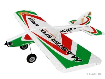 Avion Hacker model Master Stick vert ARF env.1.20m