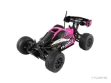 T2M Pirate Flashy Mini-Buggy rose/noir brushed 1/16e 4WD RTR