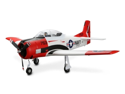 Avion E-flite T-28 Trojan BNF basic env.1.20m