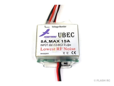 Switch Bec 8A - 5/6V - Hobbywing
