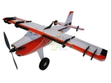 Avion RC Factory Big Crack Turbo Beaver rouge env.1.09m