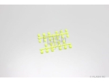 bagues de suspension inferno mp9 / jaune fluo -IF442KY Kyosho