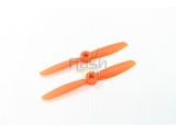 Hélices fibre SF 4x4,5 orange Gemfan (2 pcs)