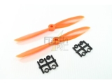 Hélices fibre SF 6x4,5 orange Gemfan (2 pcs)
