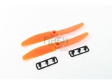 Hélices fibre SF 5x4 R orange Gemfan (2 pcs)