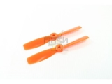 Hélices fibre SF 5x4,5 R bullnose orange Gemfan (2 pcs)