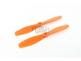 Hélices fibre SF 6x4,5 R demi bullnose orange Gemfan (2 pcs)