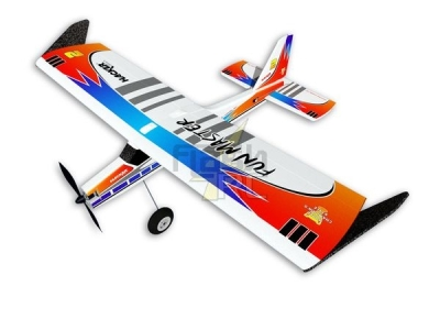 Avion Hacker model Fun Master bleu ARF env.1.20m (1.30m)