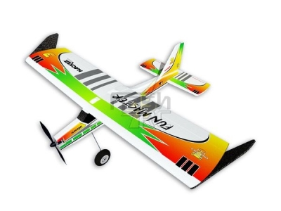 Avion Hacker model Fun Master vert ARF env.1.20m (1.30m)
