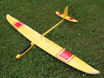 Hornet Full carbone env.2.00m  jaune&rouge RCRCM