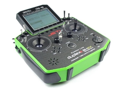 Jeti DS16 Carbon Vert Multimode 2.4Ghz Duplex + R10