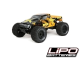 Ruckus Monster Truck LiPo noir/orange 1/10e 2WD RTR ECX RC