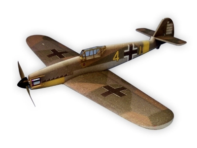 Avion Hacker model Messerschmitt BF109F ARF env.0.84m
