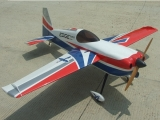 Avion Aeroplus RC Edge 540 V3 20cc 67'' rouge/bleu ARF env.1.60m